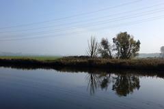 Almere-Buiten (truus1949) Tags: mist water de flevoland vaart almerebuiten