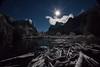 """Narnia"" (East Wind) Tags: winter moon snow nationalpark fullmoon moonrise yosemite moonstar gatesofthevalley"