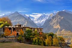 Dreamland (Shehzaad Maroof Khan) Tags: morning november autumn pakistan mountains nature nikon peace dream palace valley karakoram hunza dreamland cloudscape snowypeak gilgitbaltistan