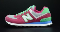 NB WL574CPV Women New Balance 574 Wine Red Green Sneaker (RobertThrashy) Tags: beautiful shopping chic runner runningshoes coupon womensshoes retrostyle popshoes shoppingonline newbalance574 fashionsneakers intrend girlsrunningshoes storediscount