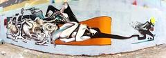 L'Amour et la Violence (GhettoFarceur) Tags: love graffiti amour violence gf rems ghettofarceur