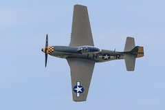 "The North American P-51D Mustang ""Baby Duck"" (Norman Graf) Tags: baby tom plane airplane duck fighter aircraft wwii airshow mustang warbird p51 p51d northamerican babyduck n251pw 2015thunderovermichigan 4472086"