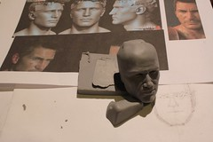 Homebrew!Nate Mark 2 (with added maths) (pseudanonymous) Tags: scale actionfigure miniature ooak workinprogress wip sculpey 16 sculpting naughtydog uncharted nathandrake sculpeyfirm