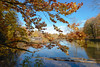 Lake Hinterbruhl 3 (Vladi Stoimenov) Tags: new autumn house lake tree water germany munich münchen boot gold mirror reflex nikon nikkor isar d610 hinterbruhl esenciadelanaturaleza lakehinterbruhl