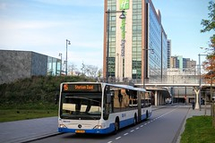 GVB Mercedes Citaro bus 373, Lijn 15, Carrascoplein (Don Maskerade) Tags: world bus public mercedes traffic transport 15 transportation mercedesbenz holidayinn autobus articulated sloterdijk 373 ov amsterdamse vervoer openbaar citaro lijn15 gemeentelijk of vervoerbedrijf geleed carrascoplein