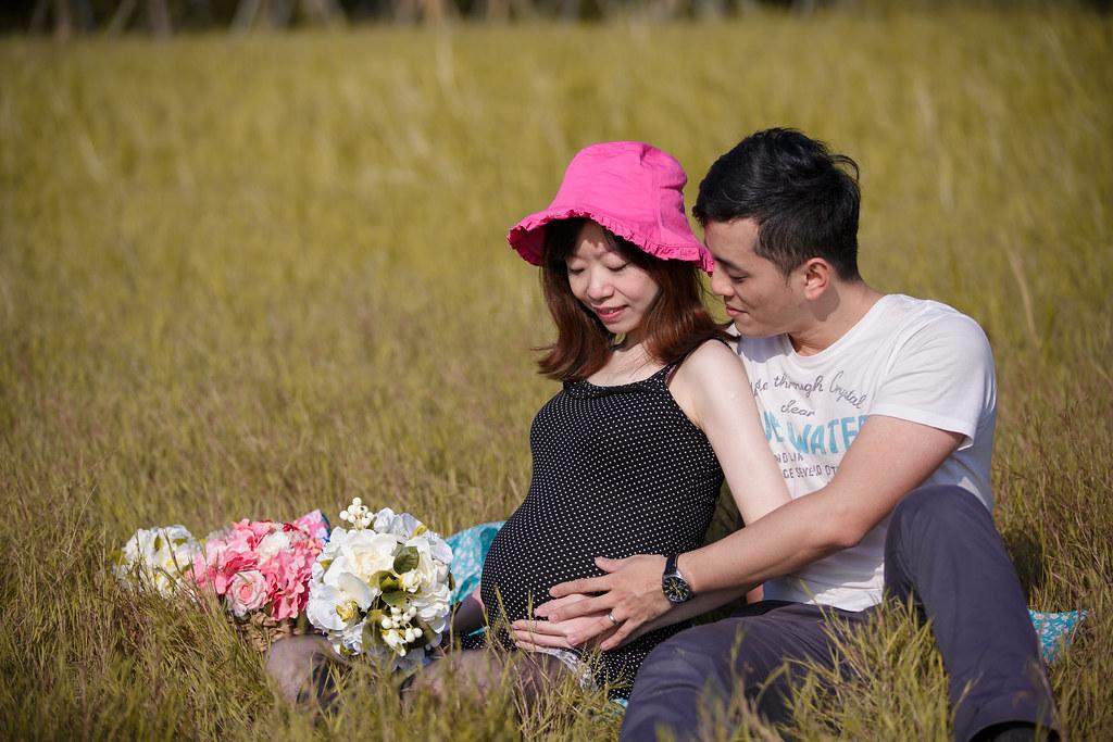 孕婦寫真,孕婦攝影,樹林孕婦,芒草孕婦,草原孕婦,Ajax&Far073