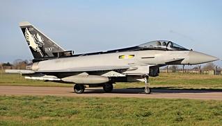 ZJ925/DXI  TYPHOON  11sqn  RAF