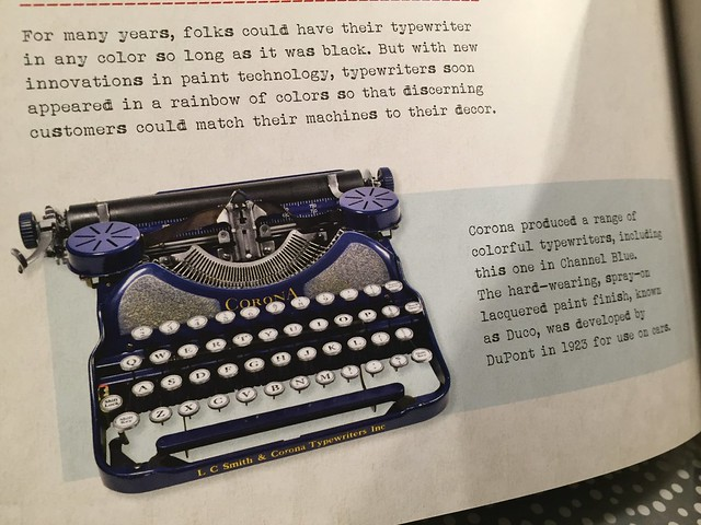 Typewriter By Tony Allan