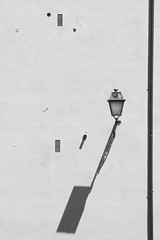 (Giulia Buccini) Tags: shadow shapes blackwhite building buildings lamp roma rome monochrome lines ital italia minimal minimalistic minimalism