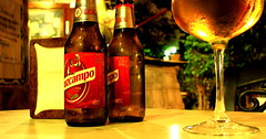 Cerveza (moodychops) Tags: cerveza beer malaga spain cruzcampo