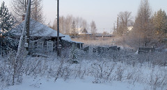 slumber (Sergey S Ponomarev - very busy) Tags: sergeyponomarev canon 70d eos ef24105f40l nature natura landscape paysage paesaggio winter inverno frost freeze cold village rural country russia russie russland december house wires morning sunrise fence trees decembre neve viatka vyatka kirov north nord window сергейпономарев покой сон зима снег холод мороз россия киров вятка декабрь 2016 пейзаж деревня спячка деревья лед утро рассвет север slumber peace