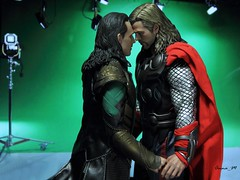 Take me home from this dirty Midgard, brother... (Anna_Mai) Tags: thorki hottoys actionfigures thor loki