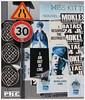 I am out of line - Rue de Rivoli - Paris (Philippe Cottier (PH.C)) Tags: france streetart affiches urban paris parigi francia europe panneaudesignalisation 30 mur wall tornposters publicité