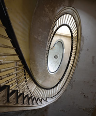 spiral version 1 (Mycophagia) Tags: spiral staircase