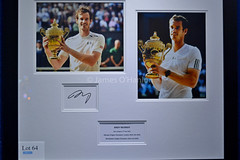 Andy Murray signed print (James O'Hanlon) Tags: wongs liver building liverbuilding liverpool jewellers winter ball winterball barclays beth tweddle ray quinn celebrity event charity melanie sykes rayquinn bethtweddle