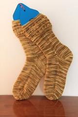 Courage Socks (ChaucerCat) Tags: knit knitting yarn ravelry sock socks woolgirl cowardlylion courage wool whatnot unioncenterknits