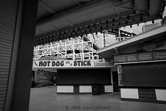 hot dog on a stick (nocklebeast) Tags: iowapacific leicasummilux24mmf14a polarexpress santacruz santacruzbeachboardwalk traintochristmastown nrd train trains ca usa scphoto xmastownl2013180
