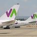 Wamos Air tails. Madrid-Bajaras, 21-5-2016
