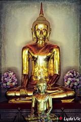 Buddha (Lцdо\/іс) Tags: thailande thailand thai buddha buddhisme statue historic gold wat saket pho grand palace palais royal bangkok