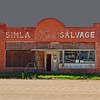 Simla Salvage (Patinagal) Tags: relic storefront facade brick decay window signage