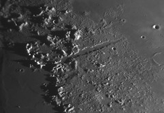 2017020 16-34 Vallis Alpes (Roger Hutchinson) Tags: vallisalpes moon space astronomy astrophotography london edgehd11 celestronedgehd11 asi174mm