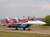 156 White Mikoyan Mig-29OVT (johnyates2011) Tags: russia moscowairshow 156white mig mikoyan mikoyanmig29 mig29 zhukovsky moscow maks2007