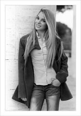 Nicole - 35 mm film (Jacopo Bongarzoni CREOART Snc) Tags: natoli nicole nicolenatoli modella jacopobongarzoniphotographer jacopobongarzoni bongarzoni jacopo creoartsnc creoart roma 2016 pellicola 35mmfilm 35mm film bianconero bn blackwhite eur rome blondie bionda hair nikon f55 nikonf55