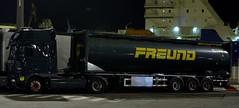 D - H.Freund >151< DAF XF 105 SSC (BonsaiTruck) Tags: lag 151 daf freund lkw lastwagen lastzug silozug truck trucks lorry lorries camion silo bulk citerne powdertank
