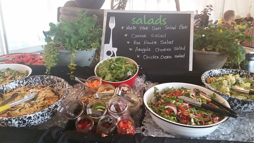 Catering: Salad Station