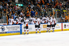 "Missouri Mavericks vs. Quad City Mallards, December 31, 2016, Silverstein Eye Centers Arena, Independence, Missouri.  Photo: John Howe / Howe Creative Photography • <a style=""font-size:0.8em;"" href=""http://www.flickr.com/photos/134016632@N02/32090836645/"" target=""_blank"">View on Flickr</a>"