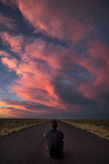 Where were you? (Jay Daley) Tags: sunset highway sky sony a7rll lox21mm new australia