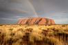 Over the Rainbow (Thibaud Chanfray) Tags: uluru ayersrock paysage outback australia australie oz bush rainbow arcenciel landscape sunset roadtrip