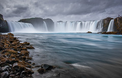 once upon a time (juhwie.foto - PROJECT: LEIDENSCHAFT-LICH-T) Tags: iceland godafoss fall waterfall pentax landscape nature clouds travel