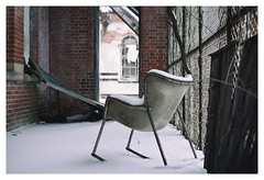 Porch (Boris_Baden0v) Tags: abandoned porch snow statehospital explore