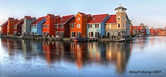 Reitdiephaven Frozen,Groningen stad,the Netherlands,Europe (Aheroy) Tags: ijs ice reitdiephaven groningen groningenstad haven harbour frozen bevroren aheroy aheroyal architecture architectuur reflections tonemapped mostphotographedspotineurope mostphotographedspotinthenetherlands europe mostphotographedplaceineurope mostphotographedplaceinthenetherlands hafen port oporto 港 gǎng minato