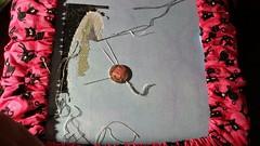 WIP 5/26/2014 (junkieforyourlove) Tags: crossstitch serenitydesigns jackskellington jackskellingtonsal nightmarebeforechristmas silkweaverfabrics