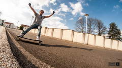 Alexis stand up session (Trialxav) Tags: longboard longboarding skate stand up slide