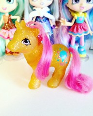 Sparkle Baby Gusty (TheGreatSpid) Tags: mlp mylittlepony little pony fim g1 vintage toy sparkle baby gusty 80s
