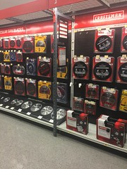 Craftsman section - Sears Ridgedale MN (m01229) Tags: sears retail store shopping craftsman tools hardwarestore