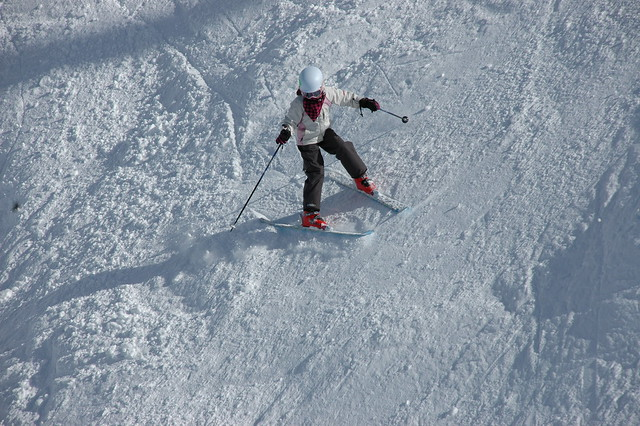 Skiing-Home Basin