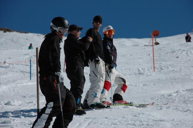 Canadian Freestyle Team training