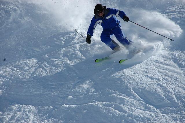 Skiing-Saddle Basin