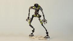 LEGO AMEE (Joe Gan) Tags: red white toys robot lego plastic technic planet macha moc afol backgroud rebrick