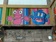 Nol & Edo (oerendhard1) Tags: urban streetart art graffiti rotterdam edo rath fabriek nol