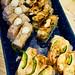 Oshizushi (compressed sushi)