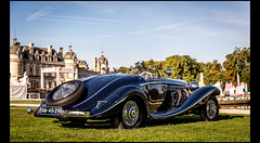 Mercedes Benz 500 K Spezial Roadster (1936) (Laurent DUCHENE) Tags: k mercedes benz mercedesbenz 500 chantilly roadster 2015 spezial artselgance