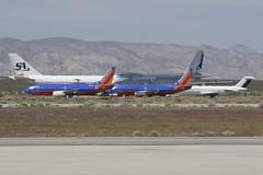 Southwest, Southern Air & Cathay Pacific (JaffaPix +5 million views-thanks...) Tags: california southwest airplane aircraft aviation aeroplane mojave soo cathaypacific cpa swa mhv kmhv southernair jaffapix davejefferys