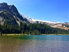 Mystic Lake (sk8ell) Tags: mountain washington mt august running trail rainier ann wonderland mtrainier circumnavigation 2015