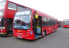 GAL SE266 - YX65RKF - NSF - BV BELVEDERE BUS GARAGE - TUE 13TH OCT 2015 (Bexleybus) Tags: bus london ahead garage go 200 belvedere dennis bv enviro metrobus adl goahead se266 yx65rkf