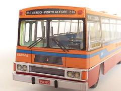 Marcopolo Veneza I 1976 (RonaldoM27) Tags: bus veneza models ônibus marcopolo papercraft papermodel modelismo modelisme